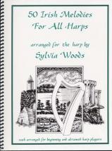 Woods Sylvia - 50 Irish Melodies - Harpe
