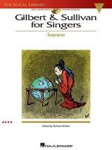 Gilbert And Sullivan For Singers Soprano Opera + Cd - Soprano