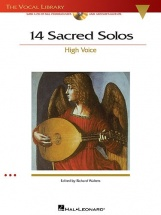 14 Sacred Solos High Voice + 2cd - High Voice