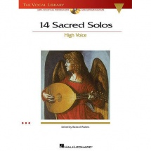 14 Sacred Solos High Voice + 2cd - High Voice