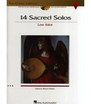 14 Sacred Solos Low Voice + 2cd - Voice