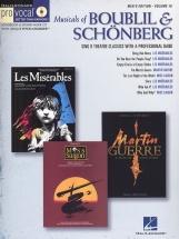 Musicals Of Boublil And Schonberg - Men's Edition Volume 18 + Cd - Tenor