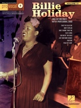 Pro Vocal Vol.33 Billie Holiday Cd