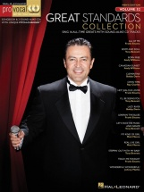 Pro Vocal Volume 52 Mens Edition Great Standards - Low Voice