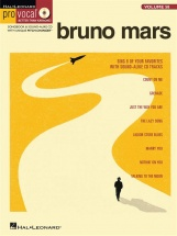 Pro Vocal Volume 58  - Mars Bruno Mens Edition + Cd - Voice