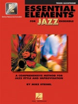 Essential Elements For Jazz Ensemble - Saxophone Tenor