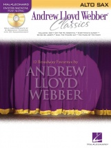 Andrew Lloyd Webber - Classics + Cd - Alto Saxophone