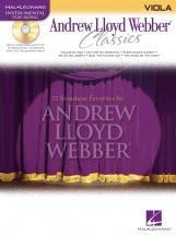 Andrew Lloyd Webber Classics - Viola+ Cd - Viola