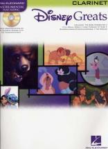 Disney Greats Clarinet + Cd