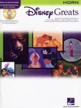 Disney Greats + Cd - Horn