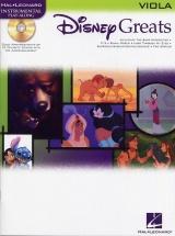 Disney Greats + Cd - Viola