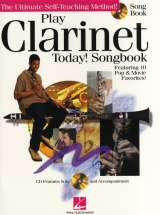 Play Clarinet Today Songbook + Cd - Clarinet