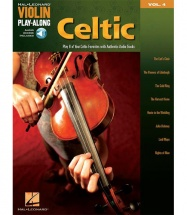 Violin Play-along Vol.4 Celtic - Violon