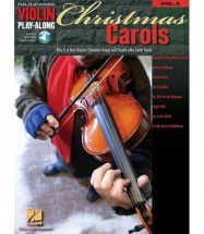 Christmas Carols - Violin Play-along Volume 5 - Violin