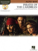 Klaus Badelt Pirates Of The Caribbean + Cd - Alto Saxophone