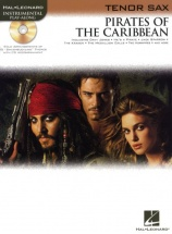 Klaus Badelt Pirates Of The Caribbean + Cd - Tenor Saxophone