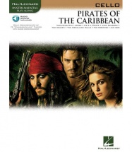 KLAUS BADELT PIRATES OF THE CARIBBEAN + MP3 - CELLO