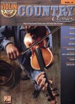 Violin Play Along Vol.8 - Country Classics + Cd