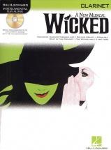 Instrumental Play-along Wicked + Cd - Clarinet