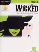 Instrumental Play-along Wicked + Cd - Cello