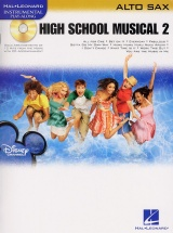 Instrumental Play-along High School Musical 2 + Cd - Alto Saxophone