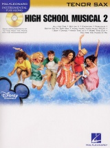 Instrumental Play-along High School Musical 2 + Cd - Tenor Saxophone