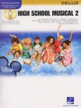 Instrumental Play-along High School Musical 2 + Cd - Cello