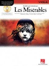 Instrumental Play-along Les Miserables + Cd - Viola