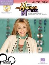 Instrumental Play-along Hannah Montana + Cd - Alto Saxophone
