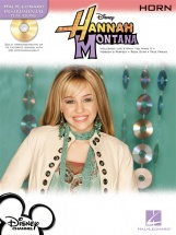 Instrumental Play-along Hannah Montana + Cd - Horn