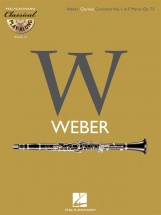 Weber C.m. - Clarinet Concerto N°1 In F Minor Op.73 + Cd
