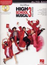 Instrumental Play Along High School Musical 3 Alto Saxophone + Cd