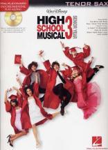Instrumental Play Along High School Musical 3 Tenor Saxophone + Cd