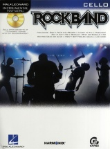 Instrumental Play-along Rock Band + Cd - Cello