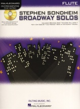 Instrumental Play Along - Sondheim Stephen Broadway Solos - Flute
