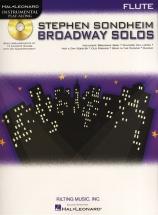 Instrumental Play Along - Sondheim Stephen Broadway Solos - Flute