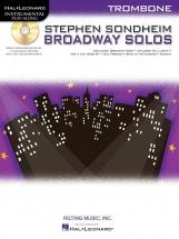 Instrumental Play Along - Sondheim Stephen - Broadway Solos + Cd - Trombone