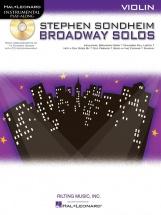 Instrumental Play Along - Sondheim Stephen - Broadway Solos + Cd - Violin