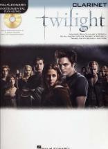 Instrumental Play Along Twilight Clarinette + Cd