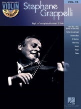 Violin Play Along Volume 15 Stephane Grappelli Violin + Cd - Violin
