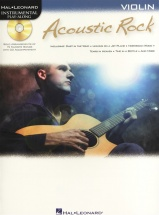 Instrumental Play Along - Acoustic Rock + Cd - Violin
