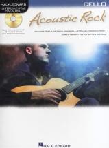 Instrumental Play Along - Acoustic Rock + Cd - Cello