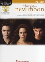 Instrumental Play-along New Moon Soundtrack + Cd - Flute