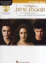 Instrumental Play-along New Moon Soundtrack + Cd - Tenor Saxophone