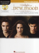 Instrumental Play-along New Moon Soundtrack + Cd - Trombone