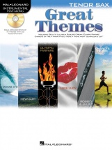 Instrumental Play Along - Great Themes + Cd - Tenor Saxophone