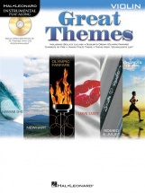 Instrumental Play Along - Great Themes Violin + Cd - Violin