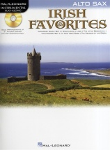 Instrumental Play-along Irish Favorites + Cd - Alto Saxophone