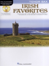 Instrumental Play-along Irish Favorites Tenor Sax + Cd - Tenor Saxophone