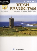 Instrumental Play-along Irish Favorites + Cd - Trombone